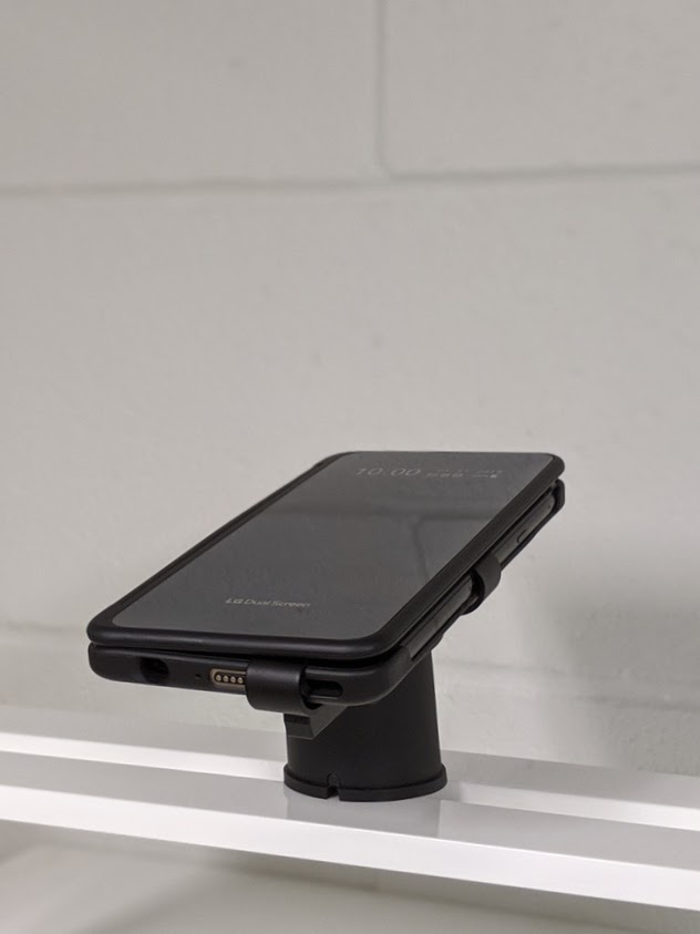 Double screen phone security